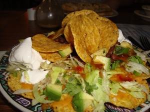 Mangostino nachos