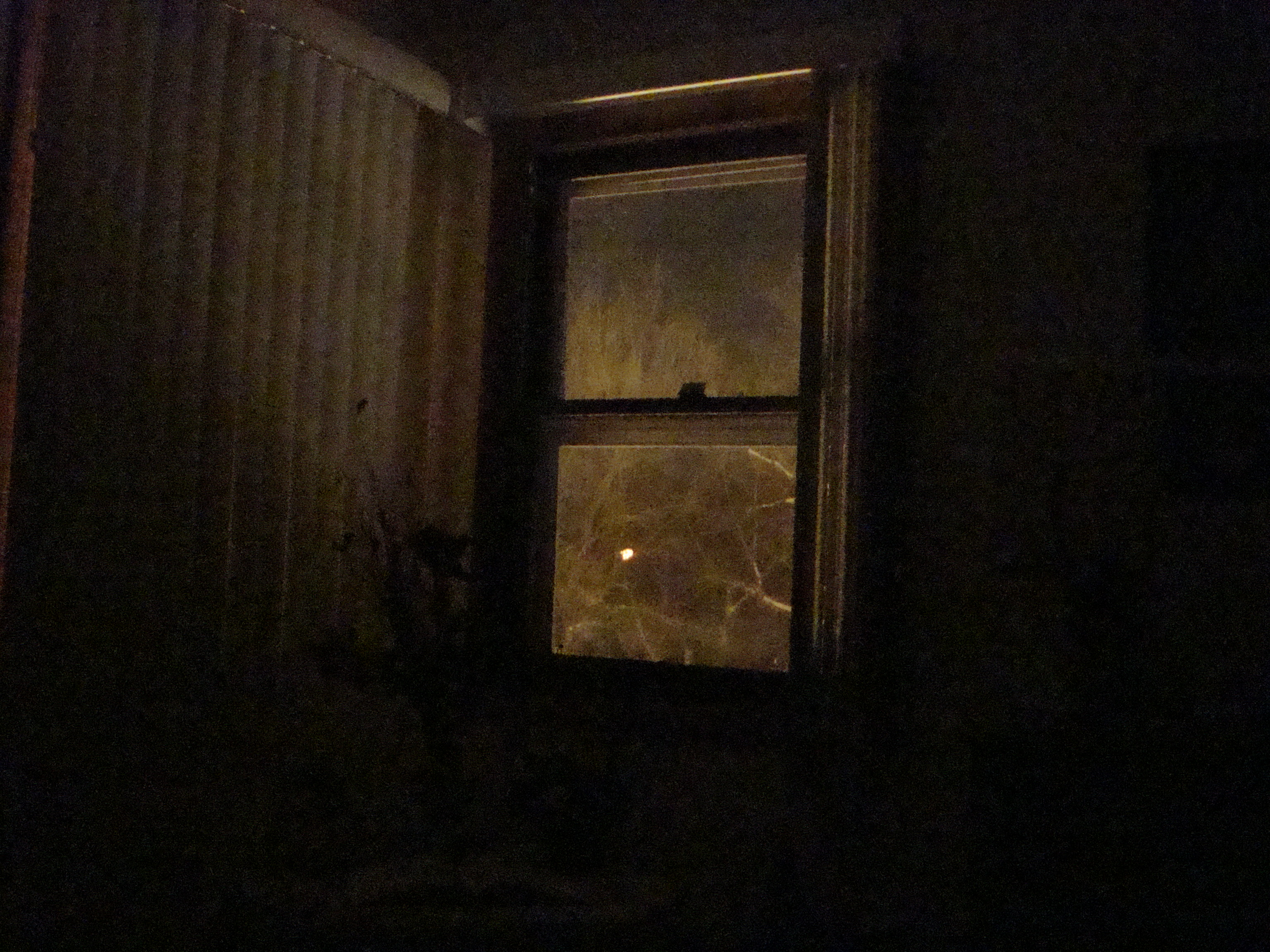 Window at night from outside - Comments