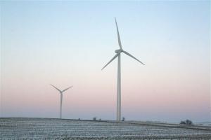 Iowa wind turbine