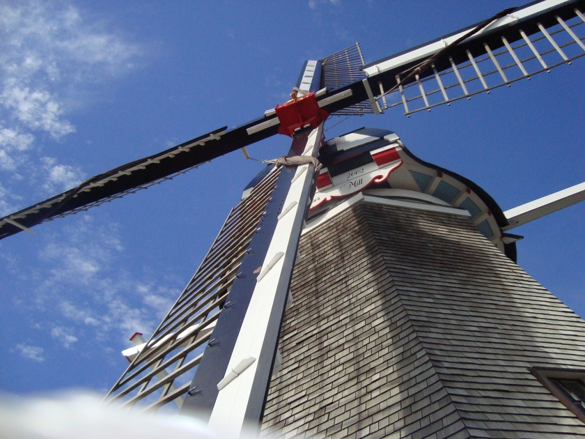 working Dutch wind mill in Pella, Iowa